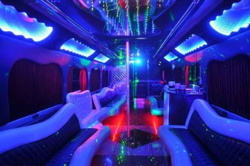 18 person party bus rental New Orleans