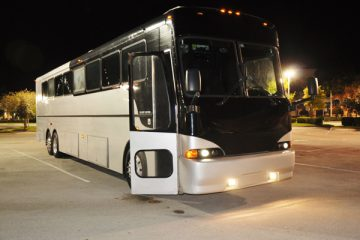 40 passenger party bus New Orleans