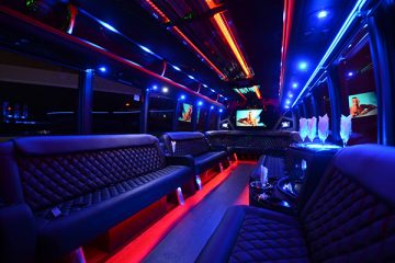 40 passenger party bus rental New Orleans